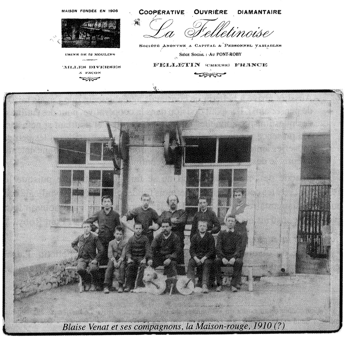diamanterie felletin 1910