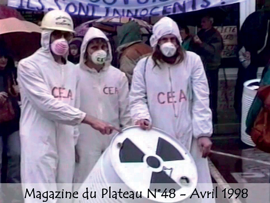 Manifestation 1990 proces Auriat