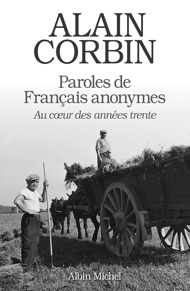 alain corbin paroles de francais anonymes