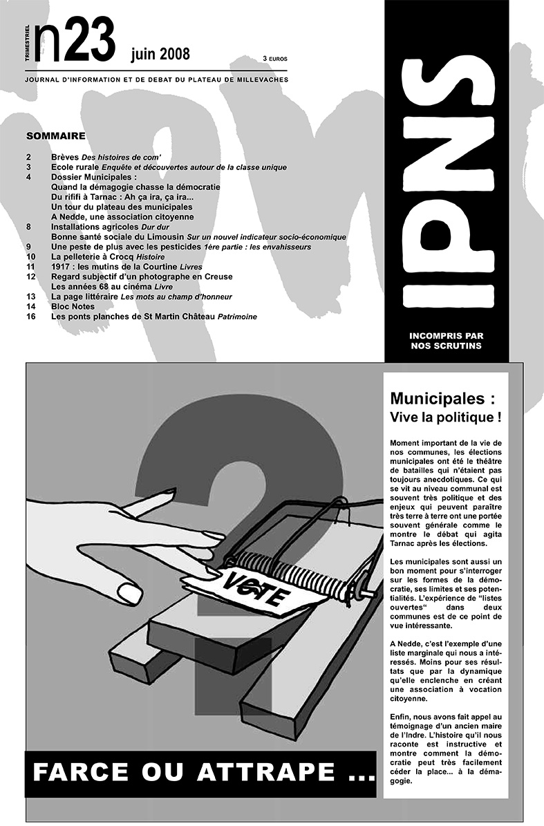 journal ipns couverture 23