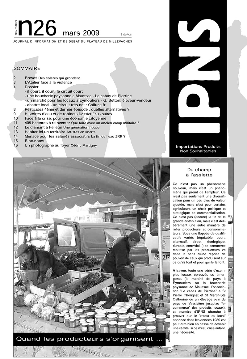 journal ipns couverture 26