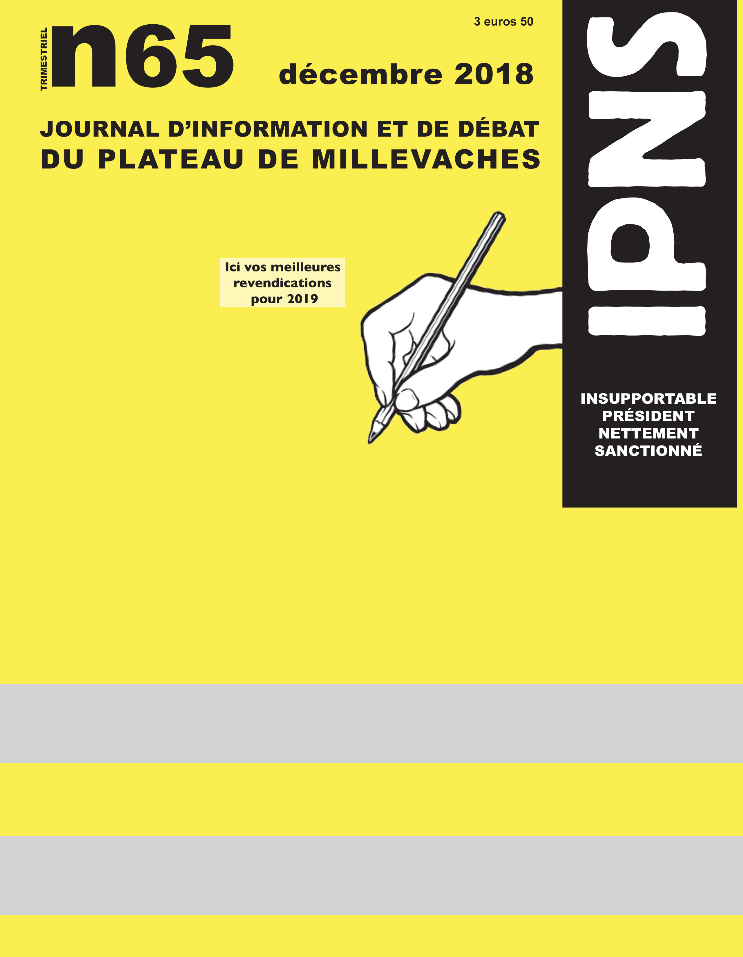 journal ipns couverture 65